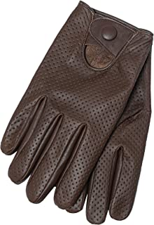 Summer  Leather style 1019 Perforated Motorcycle Motorbike Gloves
