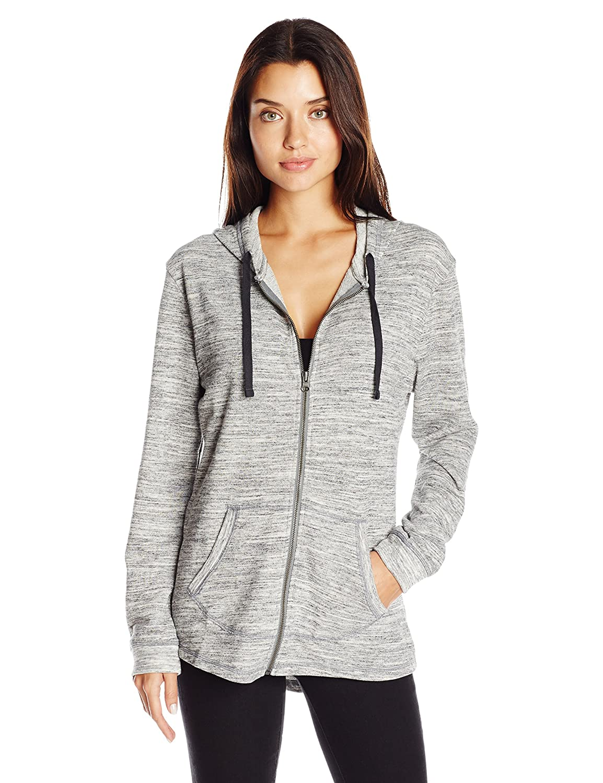 Hanes Womens French Terry Full-Zip Hoodie Sweatshirt