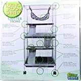 Prevue hendryx 490 pet products corner ferret cage black hammertone chinchilla for Critter ware living room series