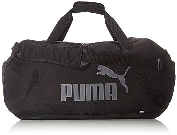 2d69462fa66 Puma Unisex s Gym Duffle Bag, Black, One Size  Amazon.co.uk  Sports ...