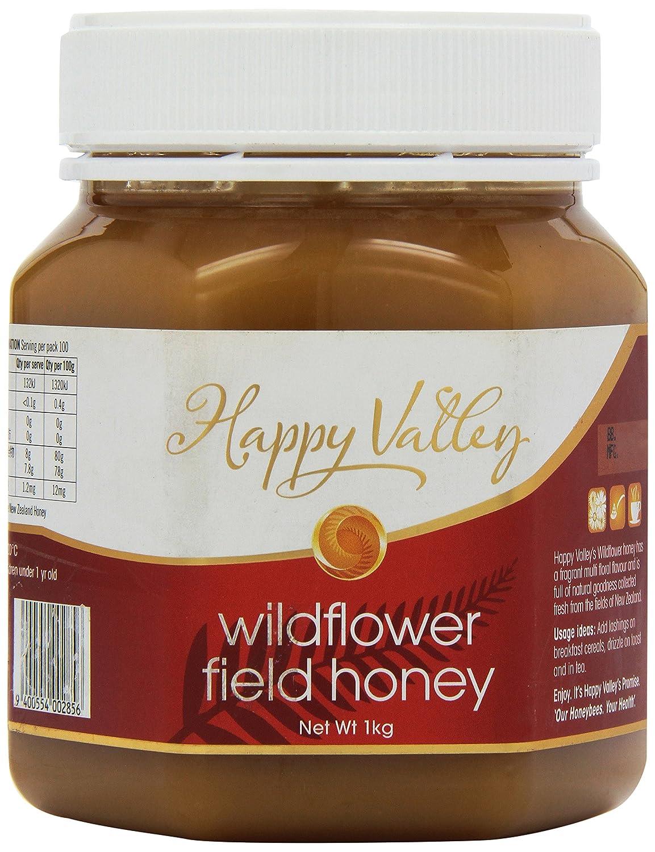 Miel de Flores Silvestres de Nueva Zelanda - 1kg: Amazon.es: Alimentación y bebidas