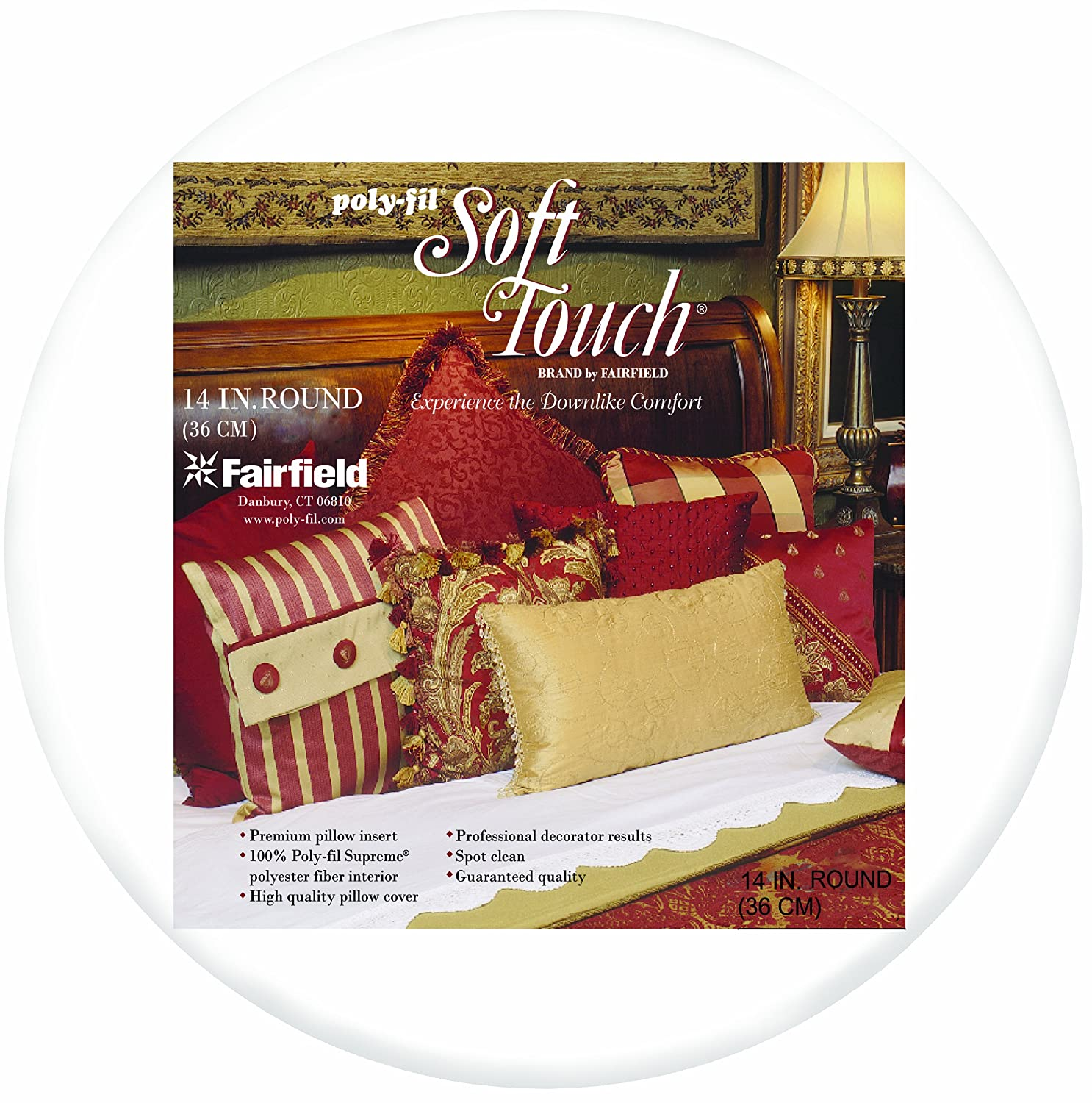 Fairfield Crafters Choice Pillow Form 14 by 14-Inch