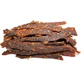 People's Choice Beef Jerky - Old Fashioned - Hot & Spicy - Sugar-Free, Carb-Free, Keto-Friendly - 1 Pound, 1 Bag