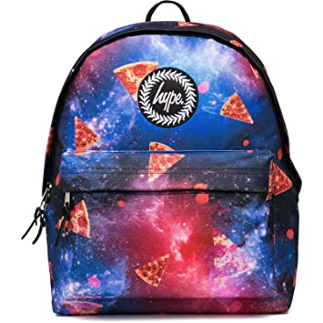 Hype Backpack Bag - Space Pizza Rucksack - Bags   Backpacks For Boys and  Girls Women ce26e822784b9