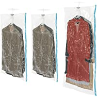 Whitmor 6782-3575-BB Spacemaker Storage Collection Spacemaker Hanging Bags, Set of 3