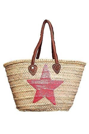 b451fc8c81c1e ORIGINAL Ibiza Tasche Korbtasche Strandtasche Celia 50cm groß ...