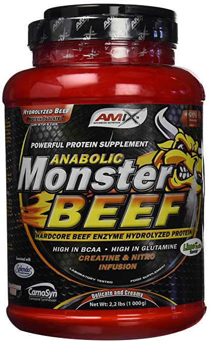 Amix Monster Beef Protein 1 kg Vainilla-lima