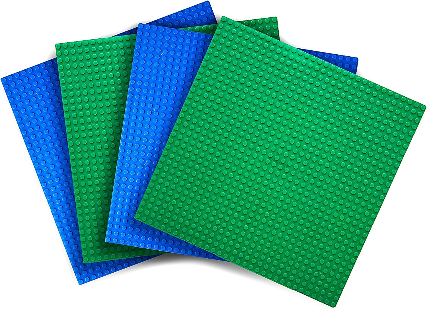 LEGO Lot of 10 Blue 1x10 Plates