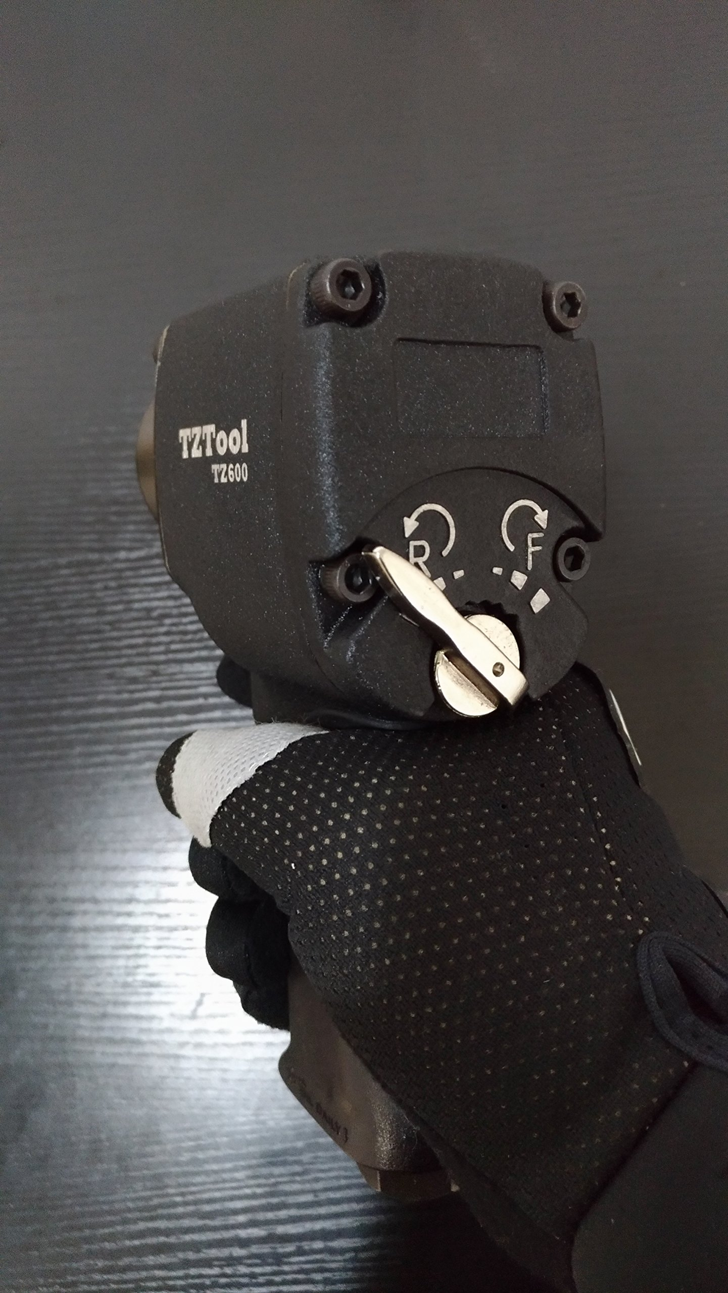 TZTOOL 1/2'' Compact impact wrench with 3/8'' impact adapter by TZTOOL (Image #2)