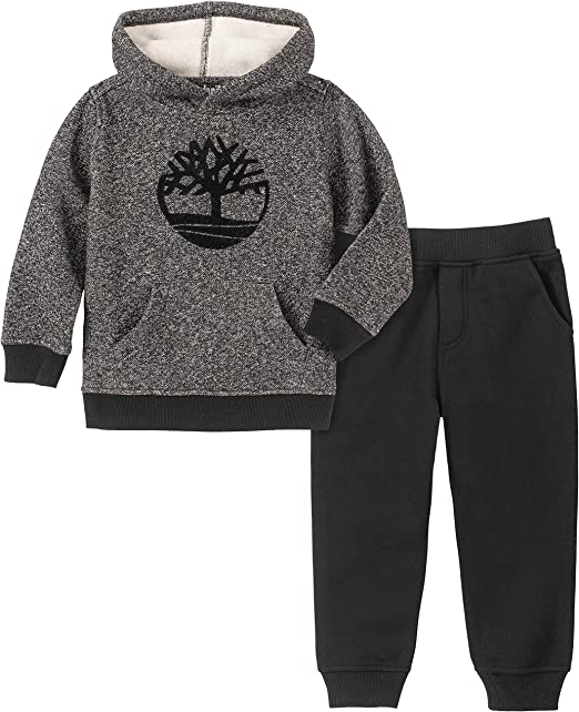 Timberland Baby 3 Piece Sweatshirt Shirt /& Pants Set