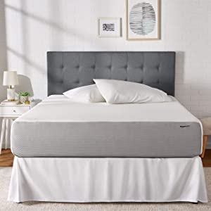 AmazonBasics Memory Foam Mattress - Soft, Plush Feel, CertiPUR-US Certified