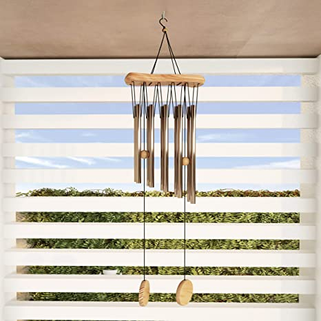 86a9f3fae Amazon.com : Pure Garden 50-LG1050 Wood Chime-34.5