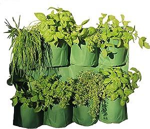 Tierra Garden 50-1070 Haxnicks Herb Wall Planter