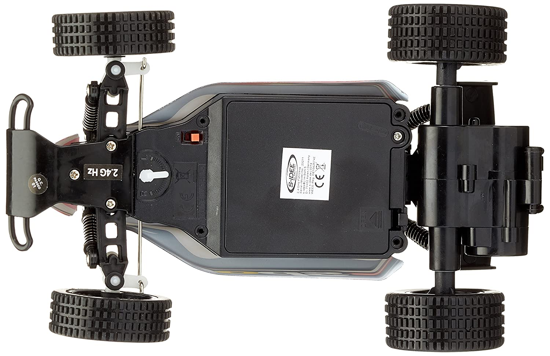 RC Coche,QZT 2.4GHz 1:20, 2 batteries, Alta Velocidad, Radiocontrol Teledirigido, Impermeable, 2WD (20 Km/h) Color Rojo: Amazon.es: Juguetes y juegos