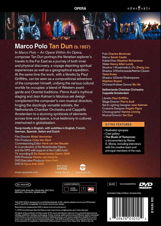 Tan Dun - Marco Polo [DVD] [Alemania]: Amazon.es: Charles Workman ...
