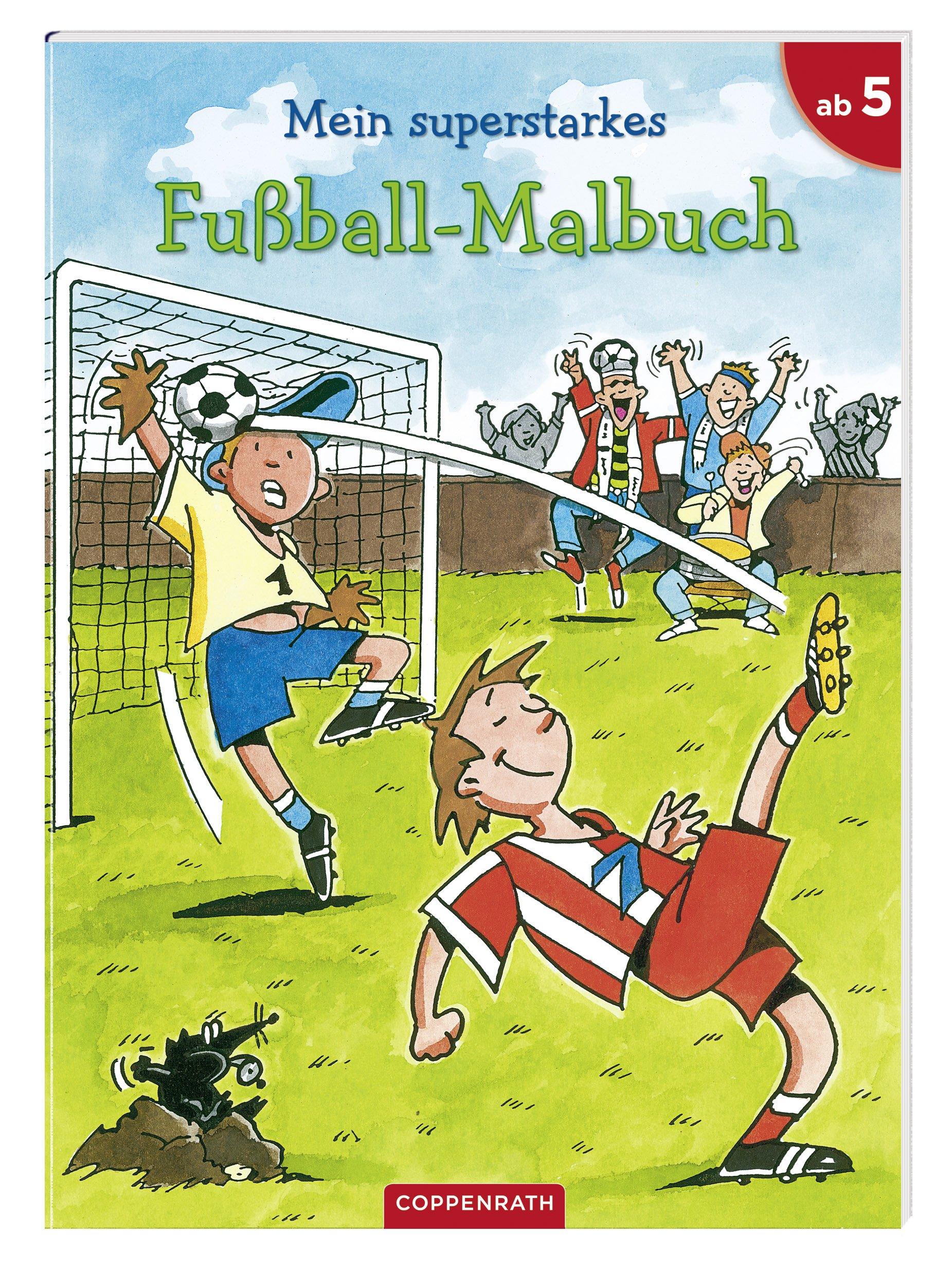 Mein superstarkes Fußball-Malbuch: Verkaufseinheit: Amazon.de ...