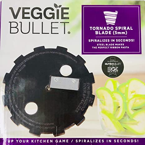 New Veggie Bullet Ribbon Spiralize Blade VB-BX075-23