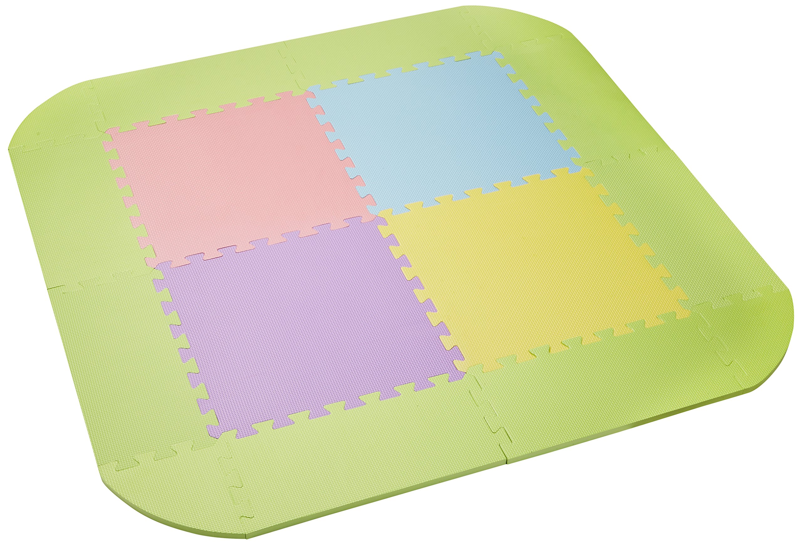 Japan childcare musical Kids Land Square dedicated mat width 116 ~ depth 116 ~ height 1.5cm 5010012001 6 months to 3 years and a half target musical kids land Square shapeless to prevent mat