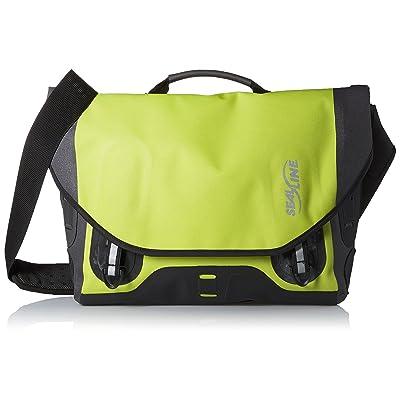 Seal Line Urban Shoulder Bag (Small, Green)