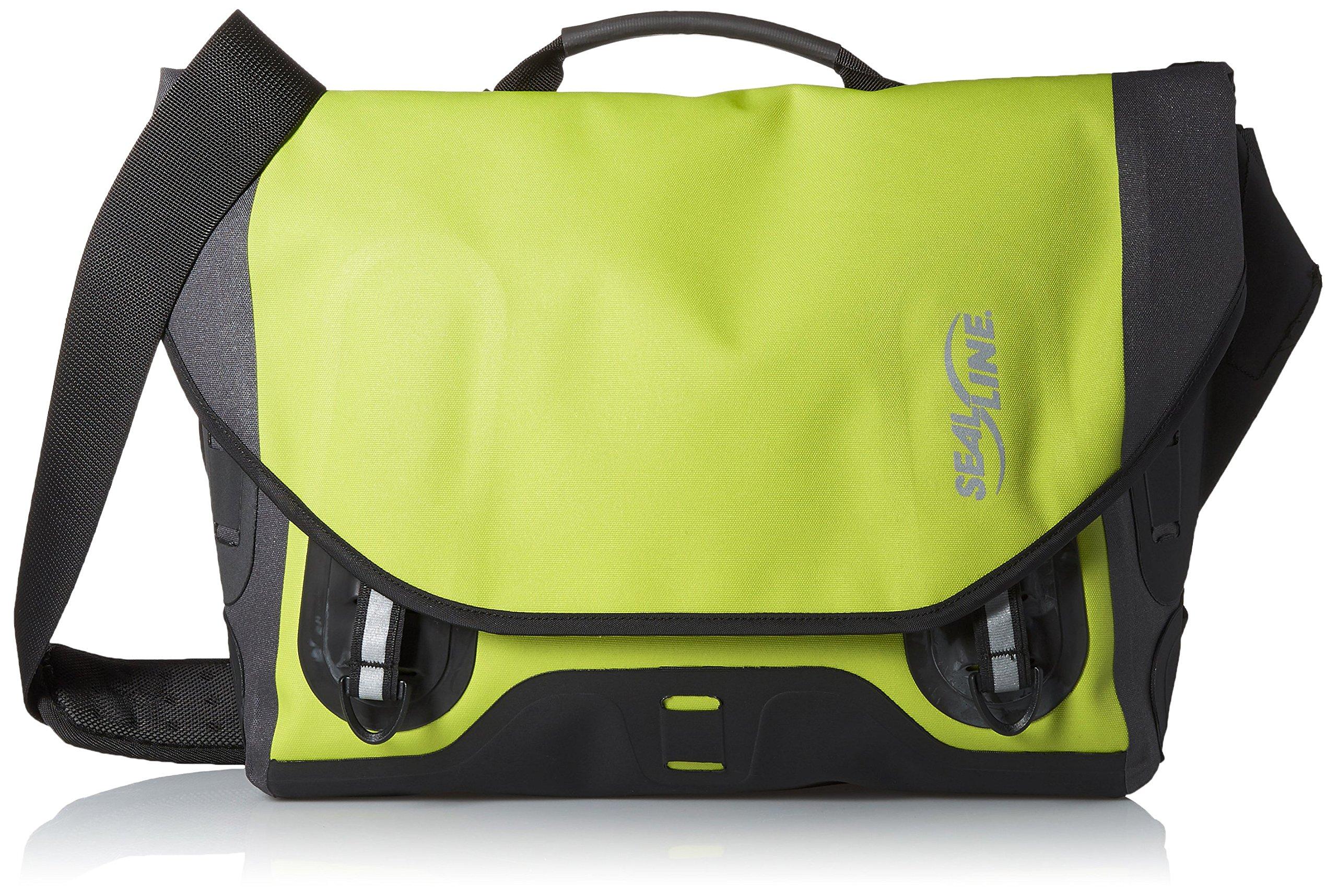 Seal Line Urban Shoulder Bag (Large, Green)