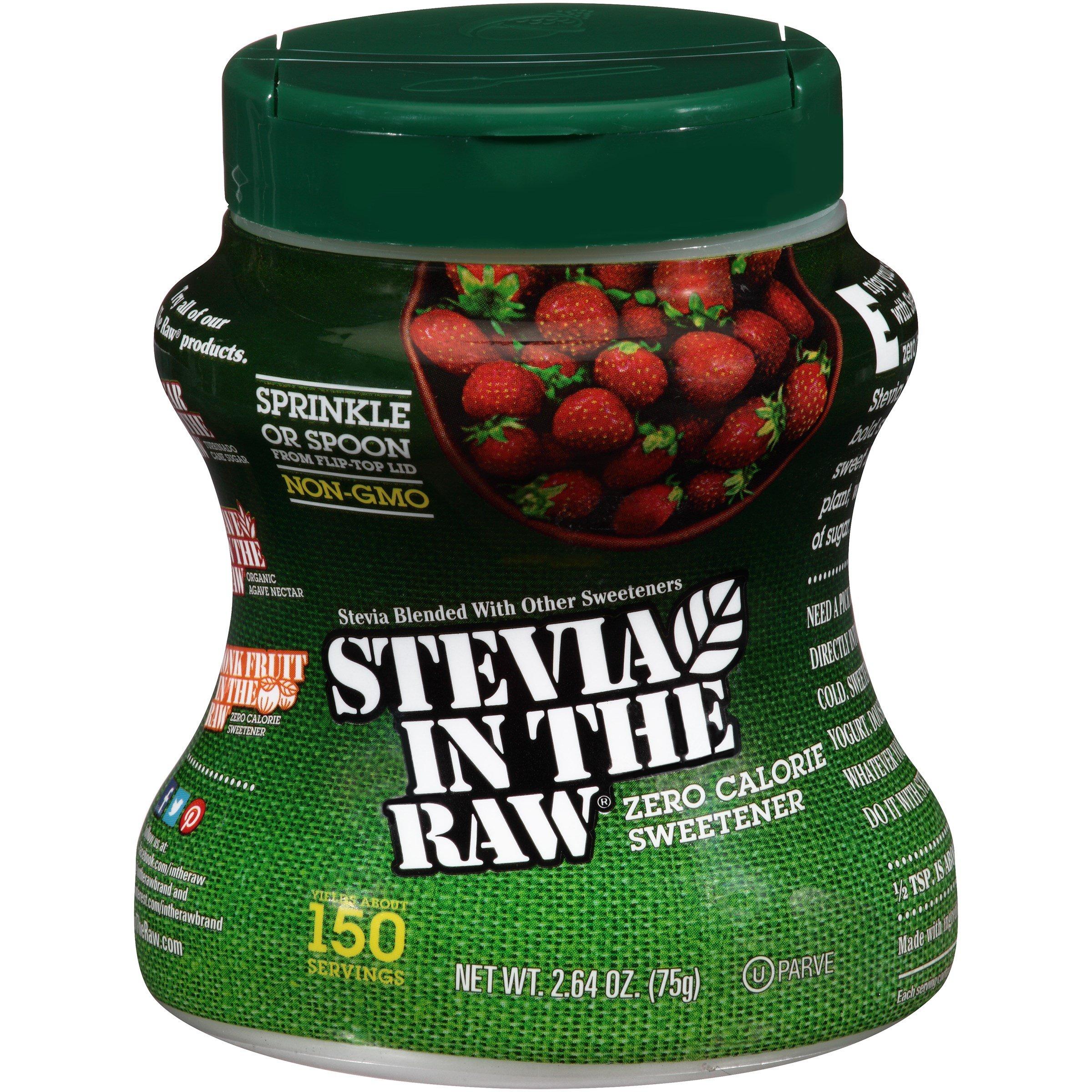 Stevia Sweetener 2.6 OZ (Pack of 24)