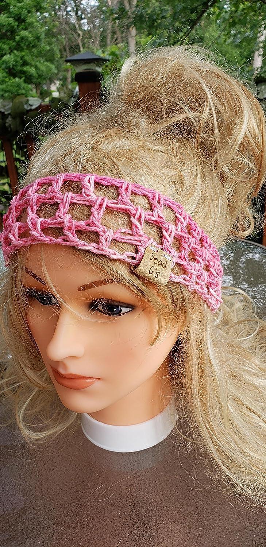 Amazoncom Crochet Headband Made By Bead Gs On Amazon Head Warmer