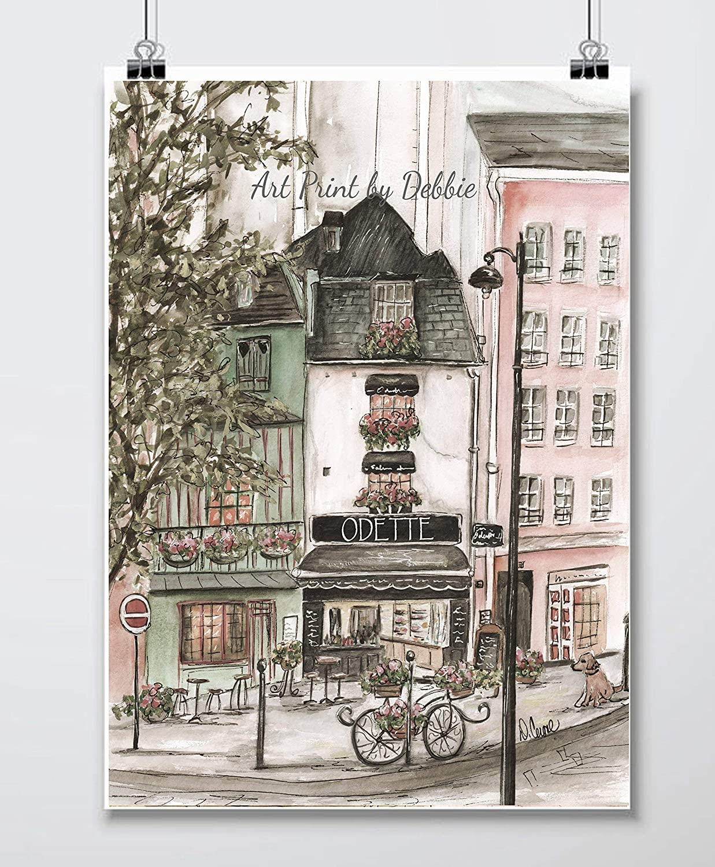 Amazon.com: Personalized Vintage Paris Decor, Odette ...