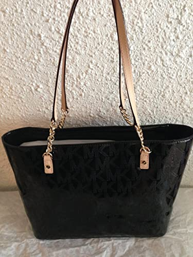 3cca0ced5c39 ... tassel chain tote black signature 9f18f 009d8; switzerland michael kors  jet set black metallic ew chain tote bag 38t3yjst7o 7c6a4 e967f