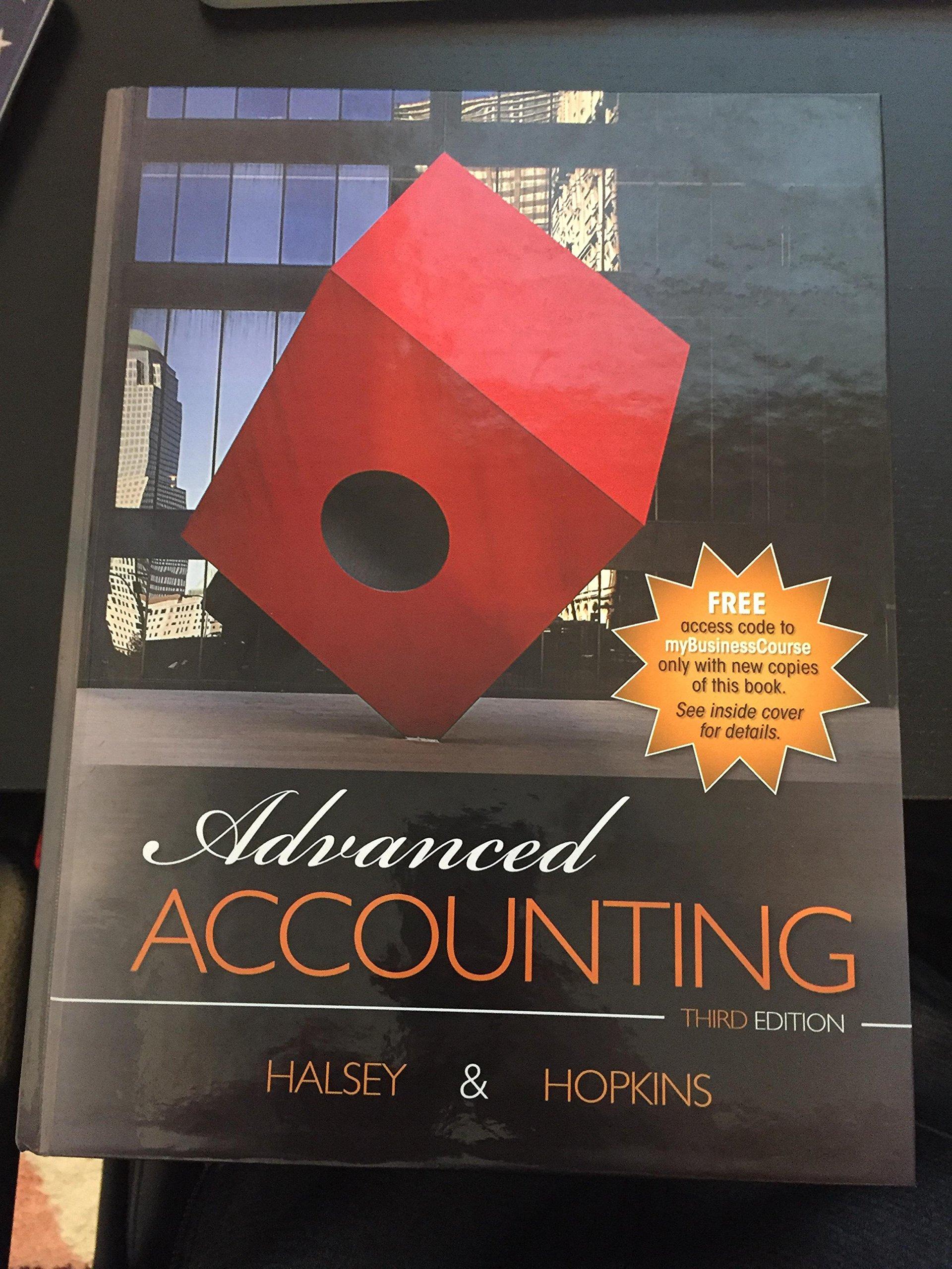 Advanced accounting halsey hopkins 9781618531902 amazon books fandeluxe Images