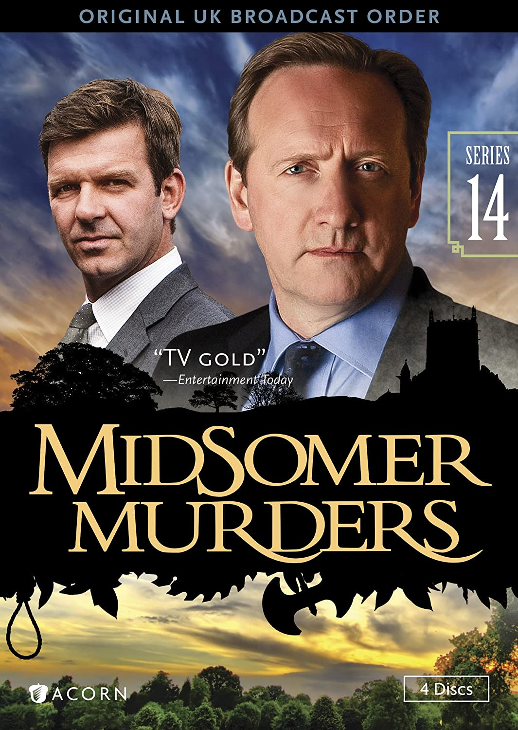 Amazon Com Midsomer Murders Series 14 Reissue Neil Dudgeon Jason Hughes Nick Laughland Simon Langton Renny Rye Richard Holthouse Movies Tv