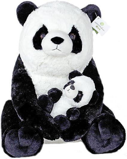 Anxiety Stuffed Animal, Amazon Com Giant Pandas Plush Stuffed Animals 18 Inch Teddy Bear With Baby Panda Kids Toys Gift Toys Games