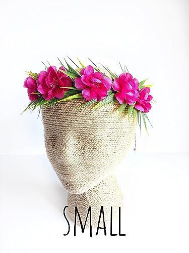 amazon com moana flower crown headband tieback haku lei child size