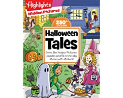 Halloween Tales: Solve the Hidden Pictures® puzzles and fill in the silly stories with stickers! (Highlights™ Hidden Pictures