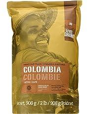 Level Ground, Direct Fair Trade, Colombia Dark Roast, Whole Bean Coffee, 908g