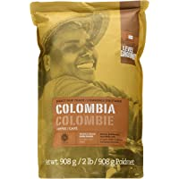 Level Ground, Direct Fair Trade, Colombia Dark Roast, Whole Bean Coffee, 908g