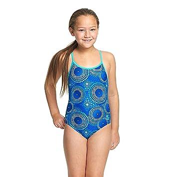428eb0ae2 Zoggs Bañador para niñas Cool Geo Multi-Back  Amazon.es  Deportes y aire  libre