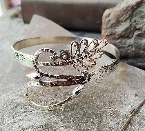 Vintage Bangle Bracelet  925 Sterling Silver