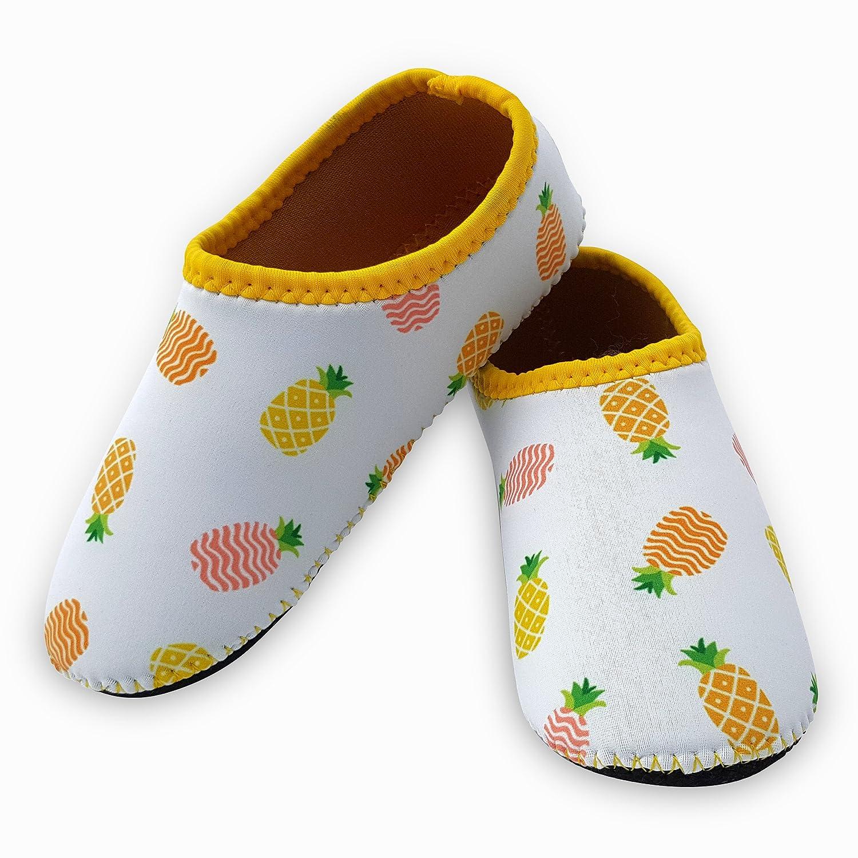 1-6 Years BS-SPC-PARENT Cheekaaboo Kids Neoprene Beach Socks Aqua Barefoot for Boys and Girls