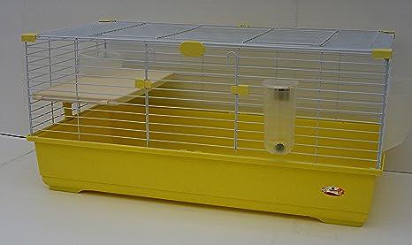 Jaula para roedores para cobayas y Enano conejitos Tommy C 102 x ...