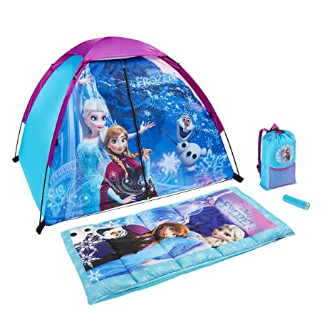 Exxel Outdoors Disney Frozen Explorer Kit, Color Morado