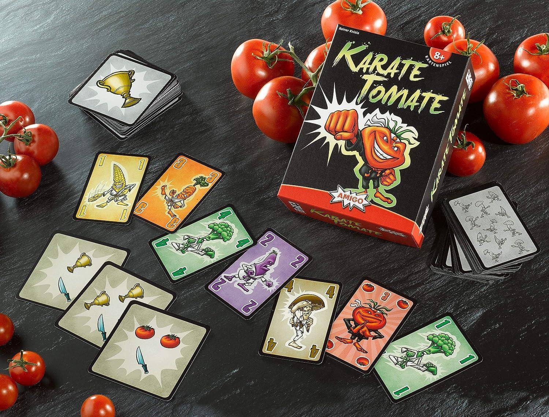 AMIGO 01855 Karate Tomate Spiele