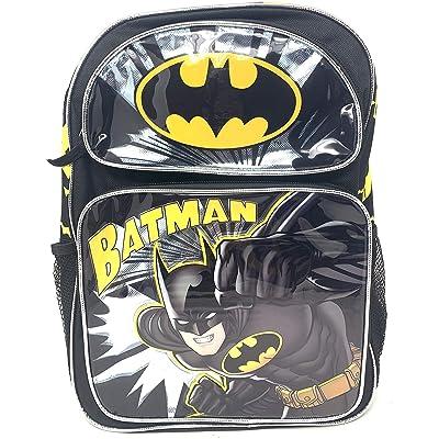 "Batman Backpack 16"" Large School Backpack Book Bag | Kids' Backpacks"