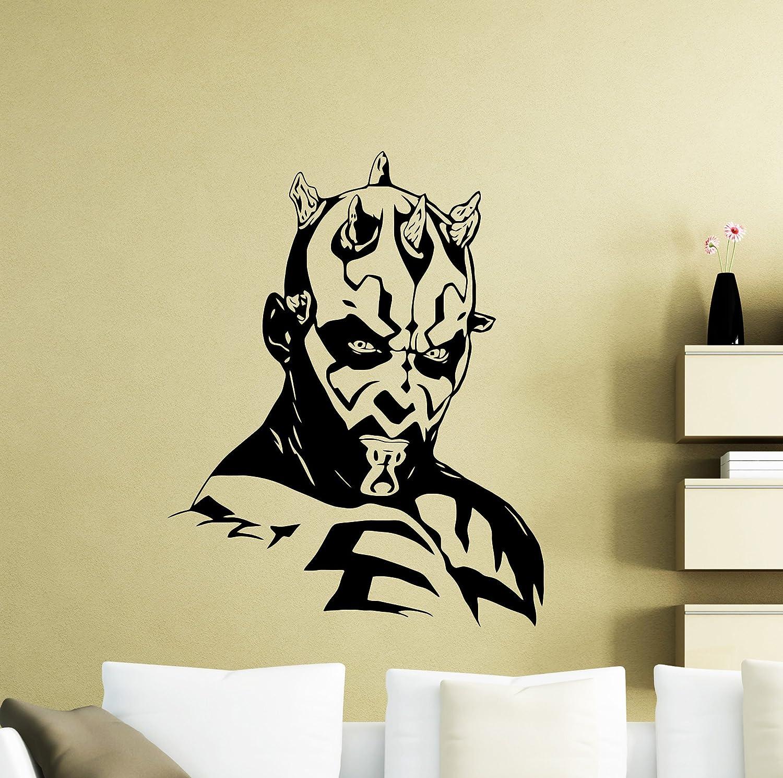 Amazon.com: Star Wars Wall Decals Darth Maul Poster Vinyl Sticker ...
