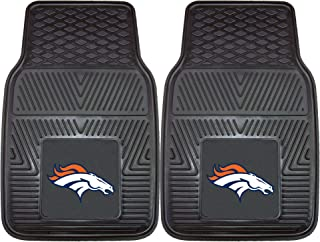 "product image for FANMATS 8768 NFL Denver Broncos Vinyl Heavy Duty Car Mat,18""x27"""