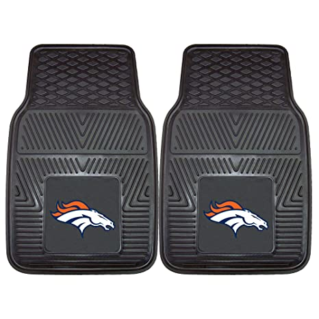 c0cd7663d0 Amazon.com: FANMATS NFL Denver Broncos Vinyl Heavy Duty Car Mat: Automotive