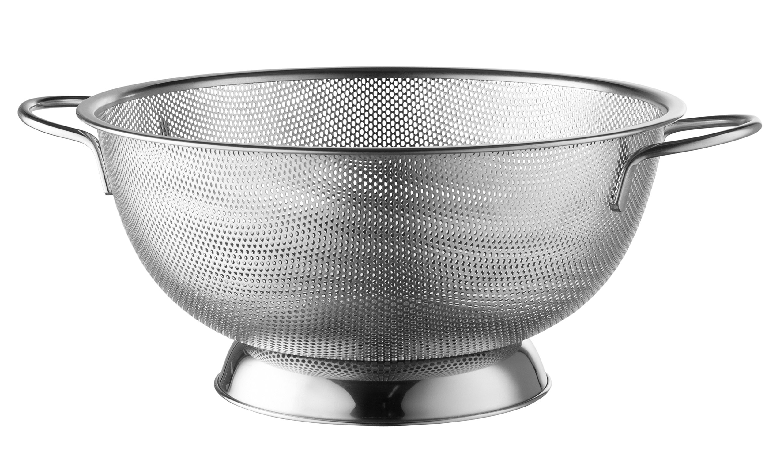 Modern Innovations Micro-Perforated 5 Quart Stainless Steel Colander Or Strainer Made With Fine Wire Mesh Perfect As A Spaghetti Strainer Kitchen Strainer Rice Strainer And Food Strainer by Modern Innovations