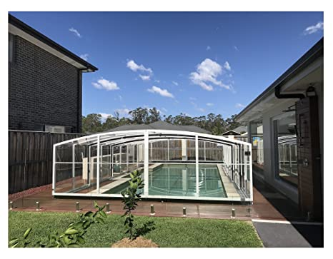ClearYup Swimming Pool Enclosures Custom Pool Screen Covers ...