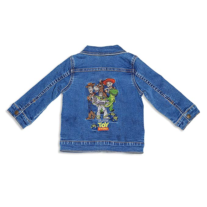DISNEY TOY STORY WOODY JEAN JACKET BABY SIZE 0 3 6 9 1218 24 MONTHS NEW!