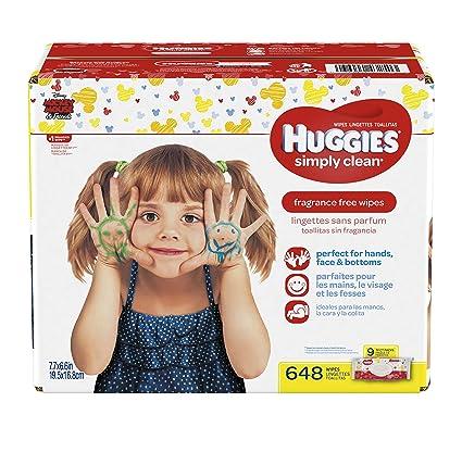 Huggies Simply clean toallitas para bebé