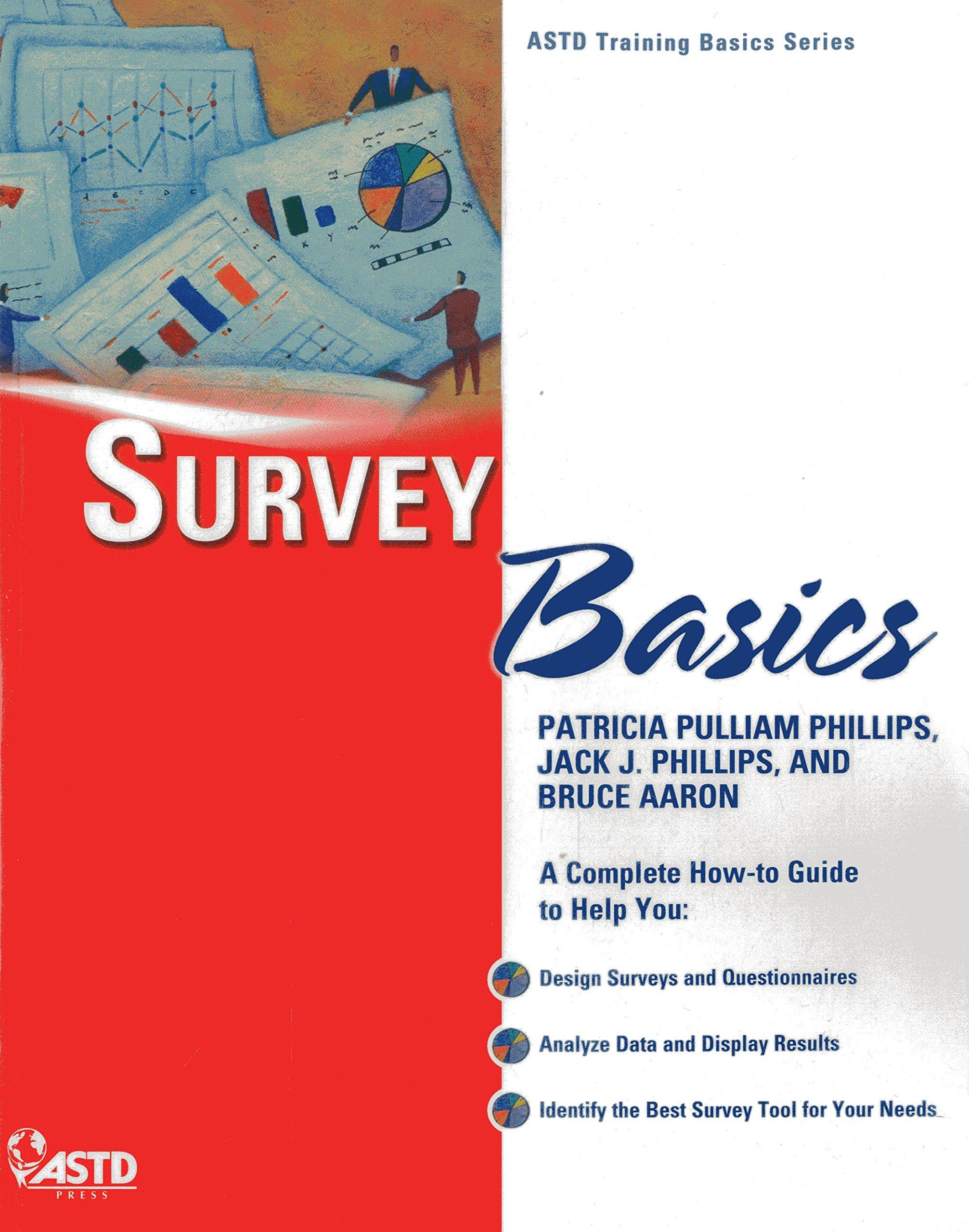 Buy Survey Basics Astd Training Basics Book Online At Low Prices